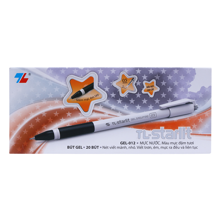 Hộp 20 Cây Bút Gel Thiên Long TL-012