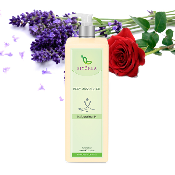 Dầu Massage Body Biyokea - Invigorating B4  - 1000ml