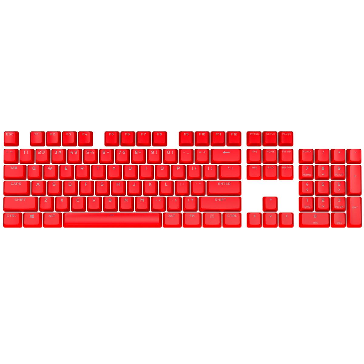 Keycap Corsair PBT Double-Shot PRO ORIGIN Red - Hàng Chính Hãng