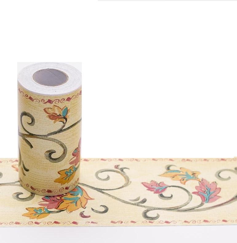 Cuộn 10m x 10cm len dán viền tường hoa dây lượn