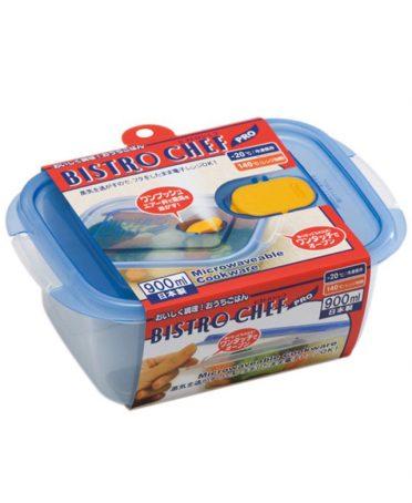 Hộp đựng thực phẩm chịu nhiệt lò vi sóng Bistro Chef Pro 900ml nội địa Nhật Bản - 23656908 , 7551219229698 , 62_2109645 , 109000 , Hop-dung-thuc-pham-chiu-nhiet-lo-vi-song-Bistro-Chef-Pro-900ml-noi-dia-Nhat-Ban-62_2109645 , tiki.vn , Hộp đựng thực phẩm chịu nhiệt lò vi sóng Bistro Chef Pro 900ml nội địa Nhật Bản
