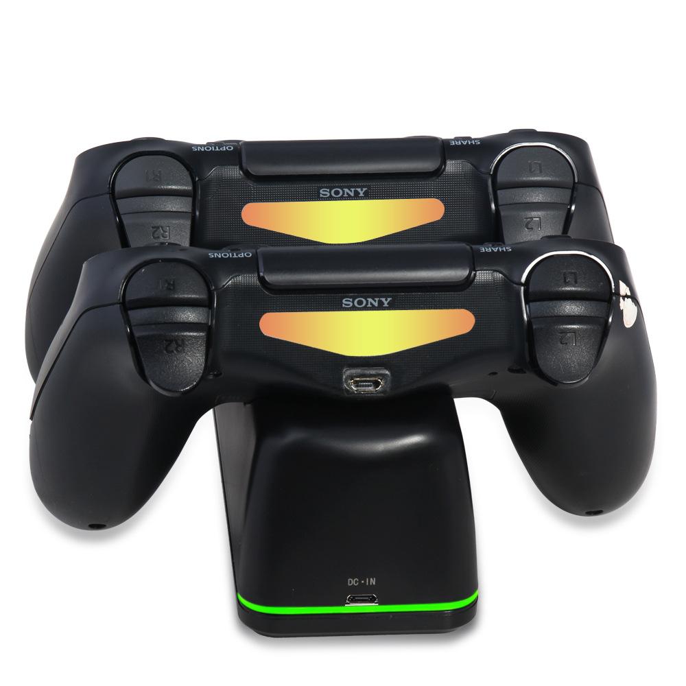 Đế sạc đôi cho tay cầm chơi game PS4, Dock sạc 2 tay cầm DOBE - Hàng nhập khẩu