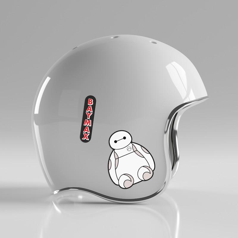 Baymax - Single Sticker hình dán lẻ