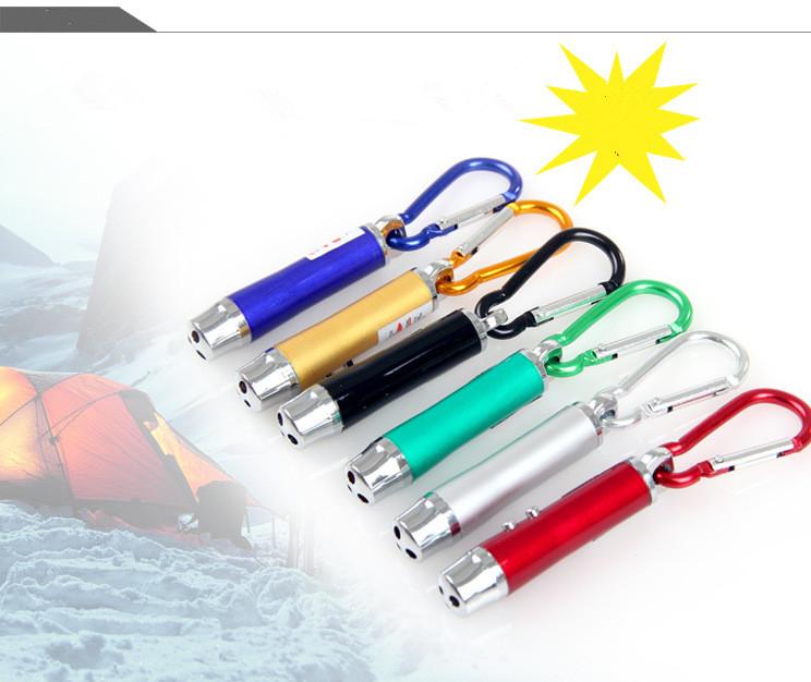 Đèn Pin Móc Khóa  3 Trong 1 Đa Năng  (Led + Lazer + Soi Tiền) TMT COLLECTION  Cao Cấp DPMK3T1