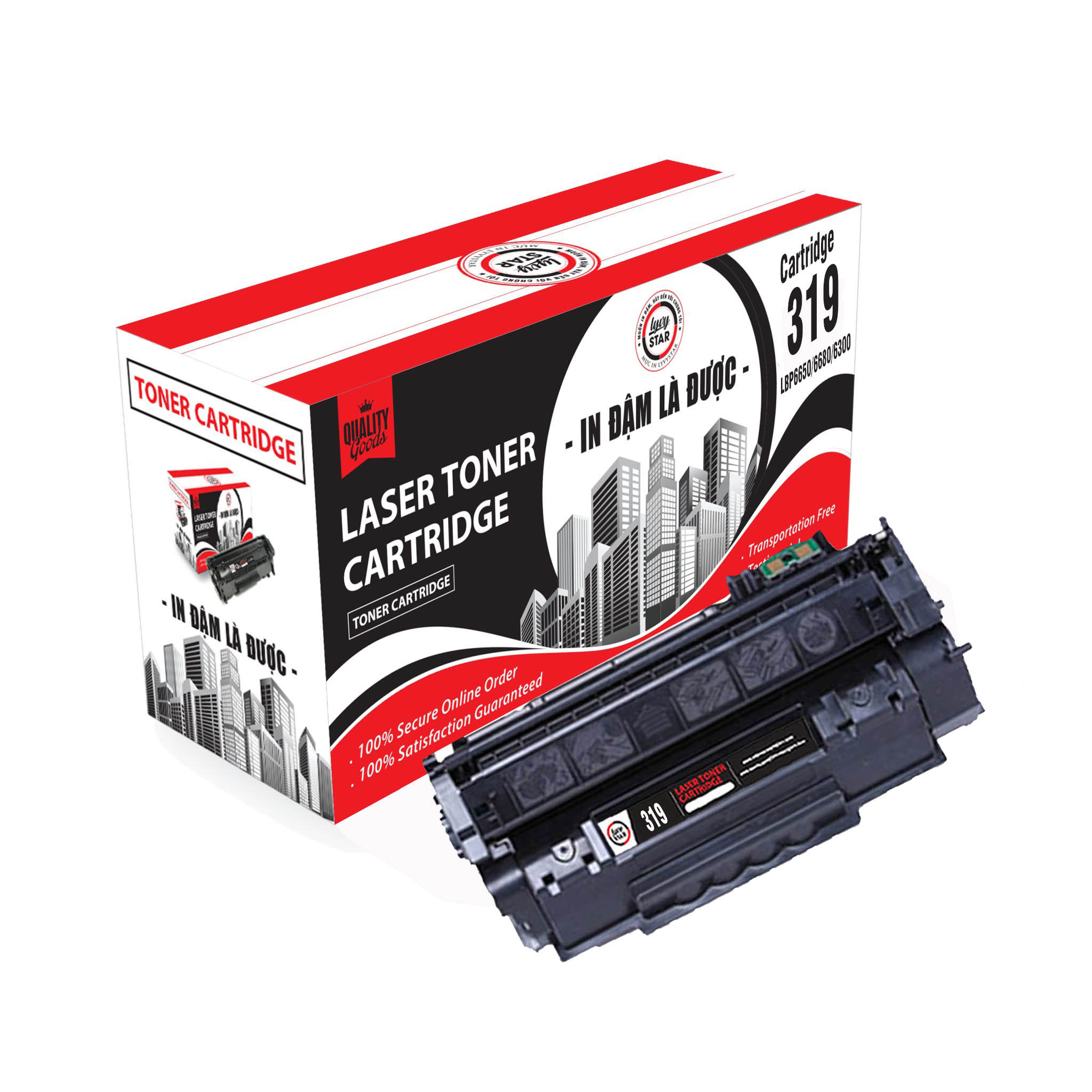 Mực in Lyvystar Laser 319 - Dùng cho máy in Canon LBP 252DW - Hàng chính hãng