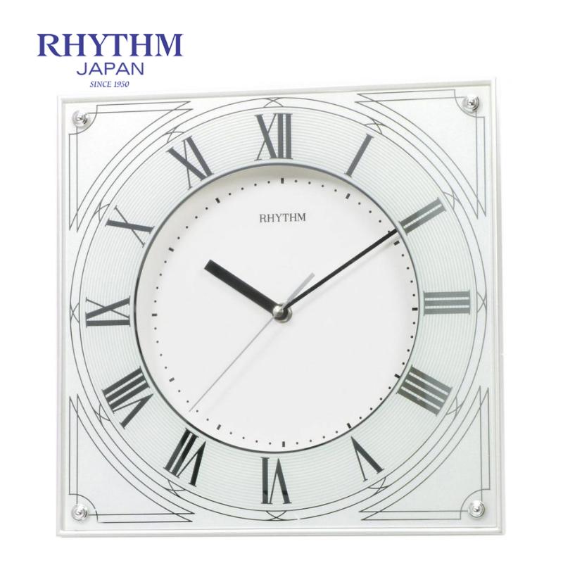 Đồng hồ treo tường Nhật Bản Rhythm CMG459NR03 - Kt 29.8 x 29.8 x 5.0cm, 1.02kg