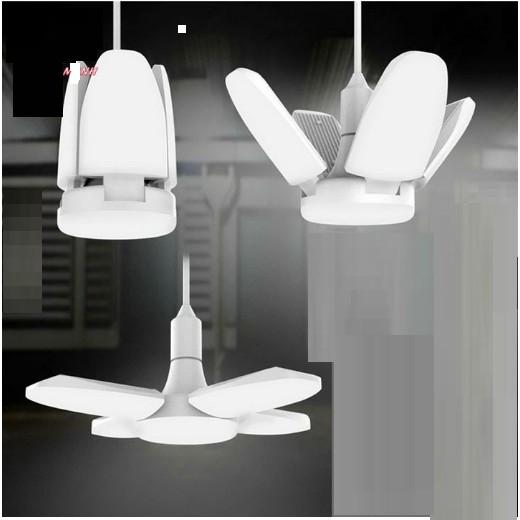 Đèn led 4 mặt  BX - 60 (60W) có thể gấp xòe cánh tiện dụng