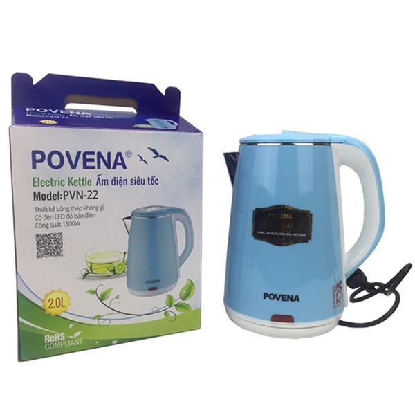 Bình Đun Siêu Tốc Povena PVN-22 - Hàng Chính Hãng