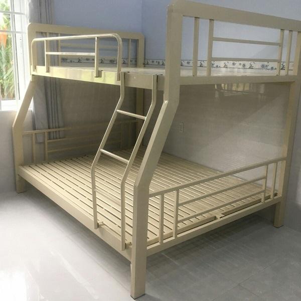 Giường tầng sắt hộp 1m4x1m6 x2m