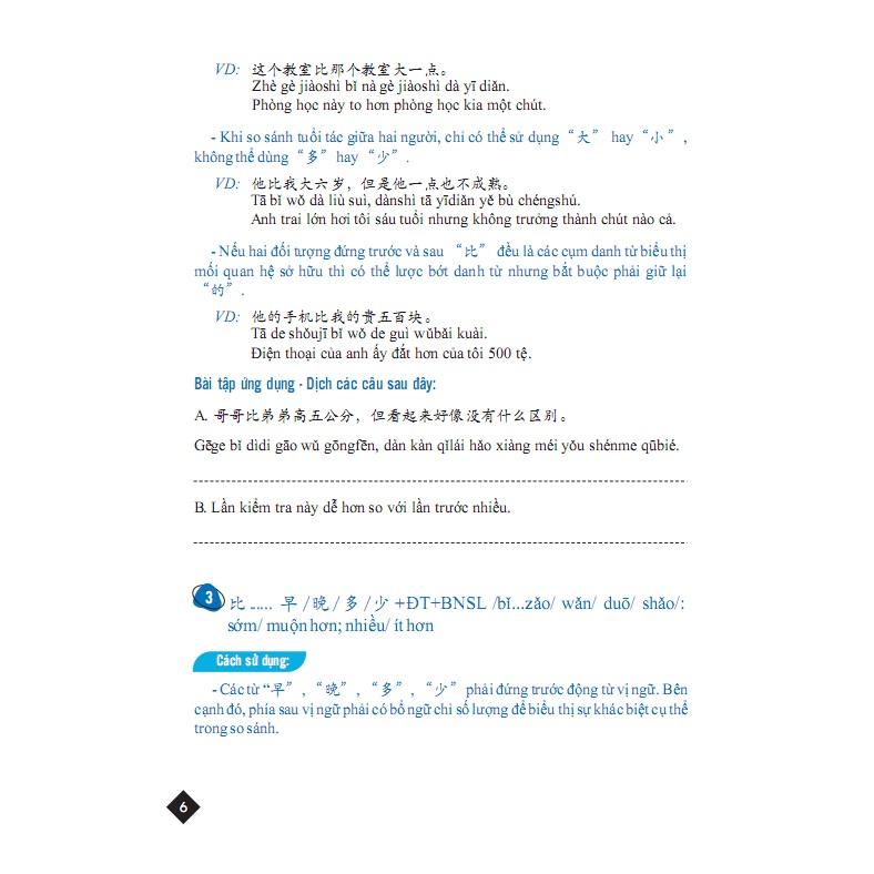 Tuyển tập cấu trúc cố định tiếng Trung ứng dụng