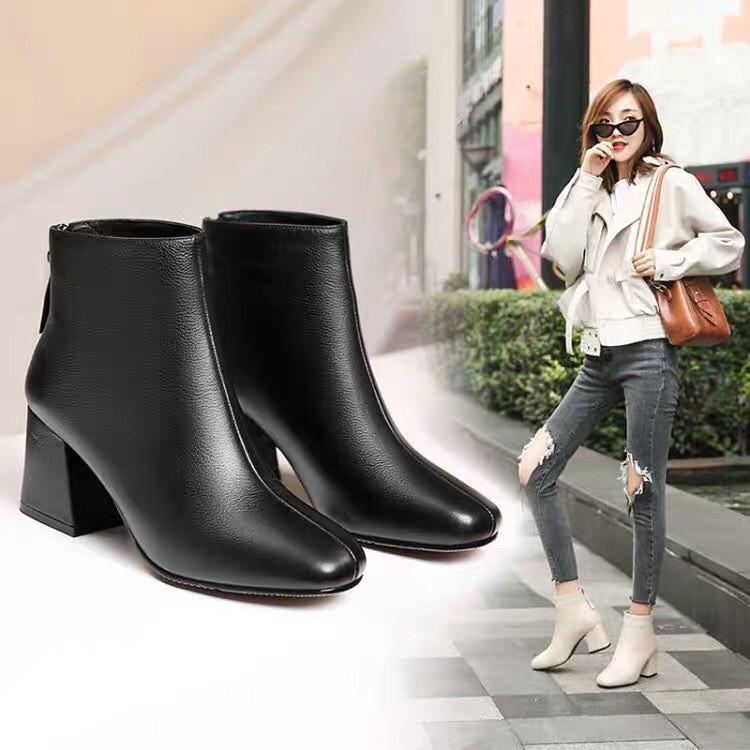 Bốt nữ, giầy nữ thấp cổ Ladyyyy   - PKT fashion