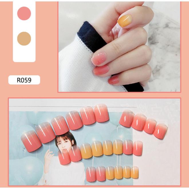 Bộ 24 móng tay giả nail thơi trang như hình (R-059)