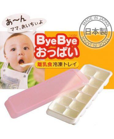 Khay đựng ăn dặm trẻ em 12 ngăn có nắp kháng khuẩn nội địa Nhật Bản