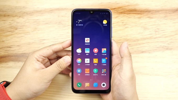 Xiaomi Redmi Note 7 Pro được trang bị màn hình IPS LCD có kích thước 6.3 inch