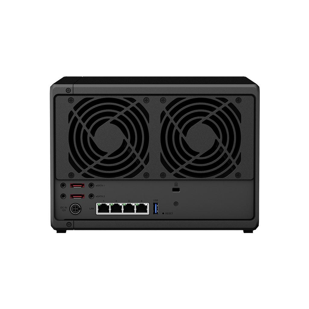 Thiết bị lưu trữ NAS 5-Bay Synology DS1520+ - Hàng Chính Hãng