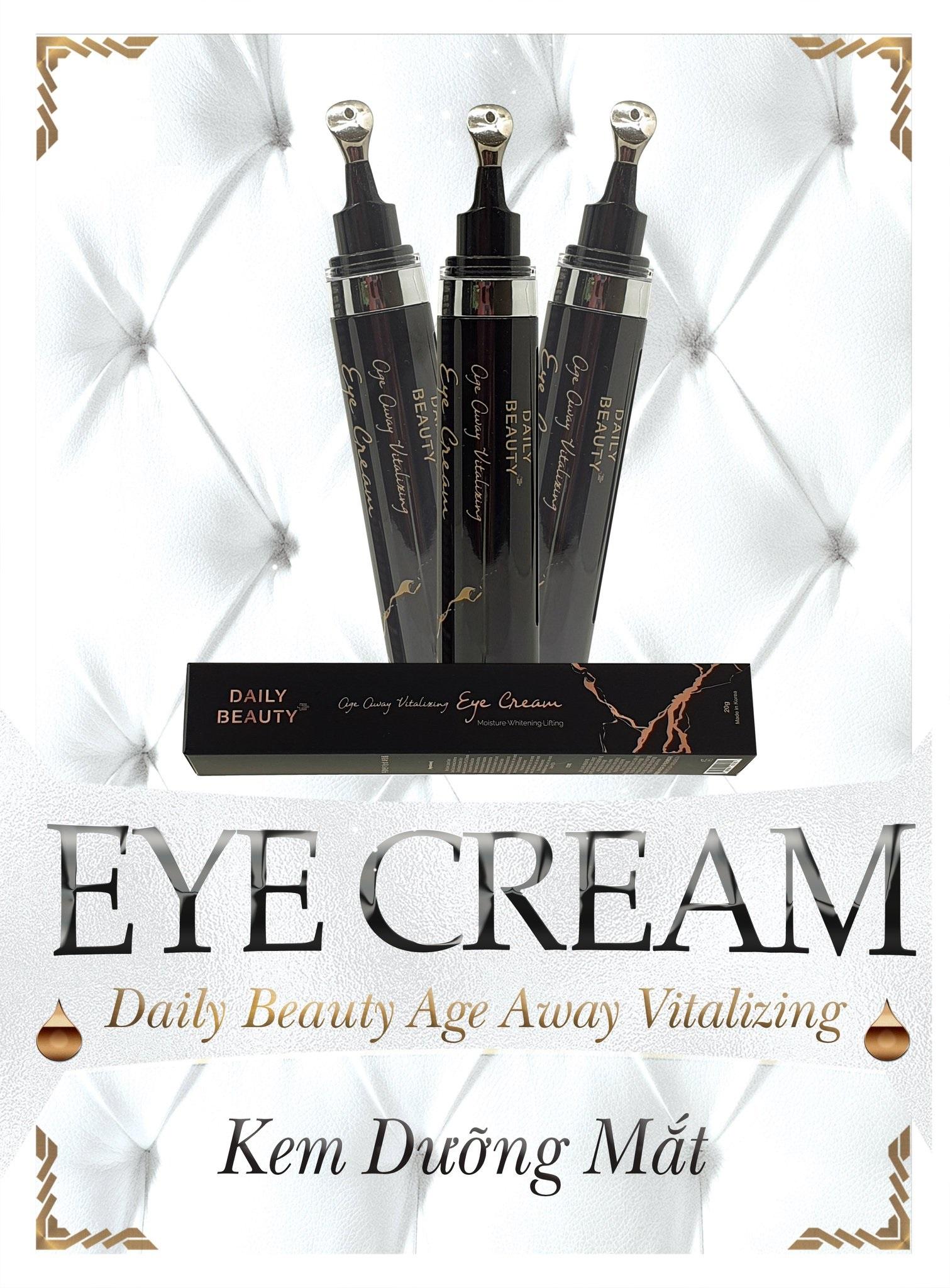 Kem dưỡng mắt Daily Beauty Age Away Vitalizing Eye Cream R&B Việt Nam phân phối độc quyền sản phẩm nhập khẩu từ Hàn Quốc