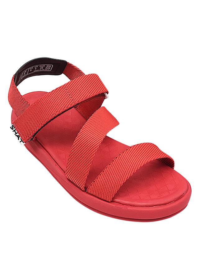 Giày Sandal Nữ SHAT F5M006 - Đỏ