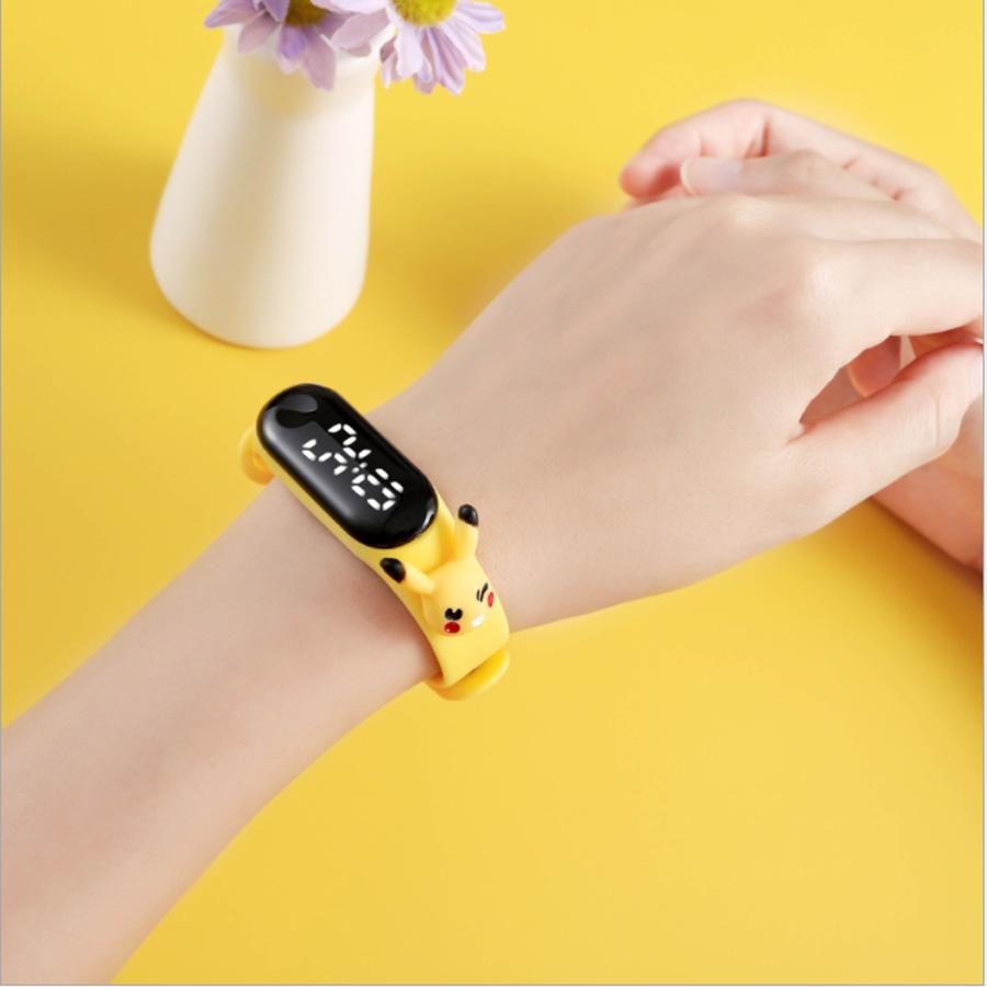 đồng hồ điện tử đeo tay  ZGO DISNEY led kute đáng yêu cho bé (giao màu ngẫu nhiên)