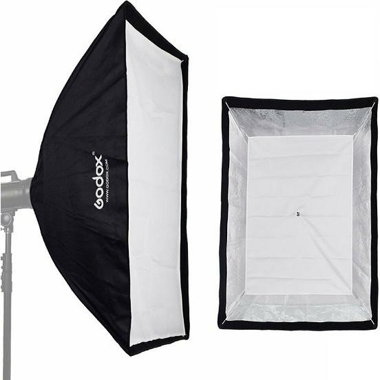 Softbox Godox 80x120cm hàng chính hãng.