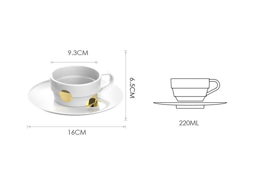 Tách cà Phê cao cấp Brewista B+ Porcelain – Americano