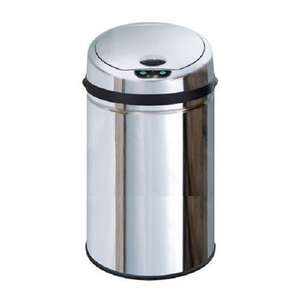 Thùng rác cảm ứng thông minh tự động đóng mở chất liệu INOX Ecolife ECO 809 9 Lít