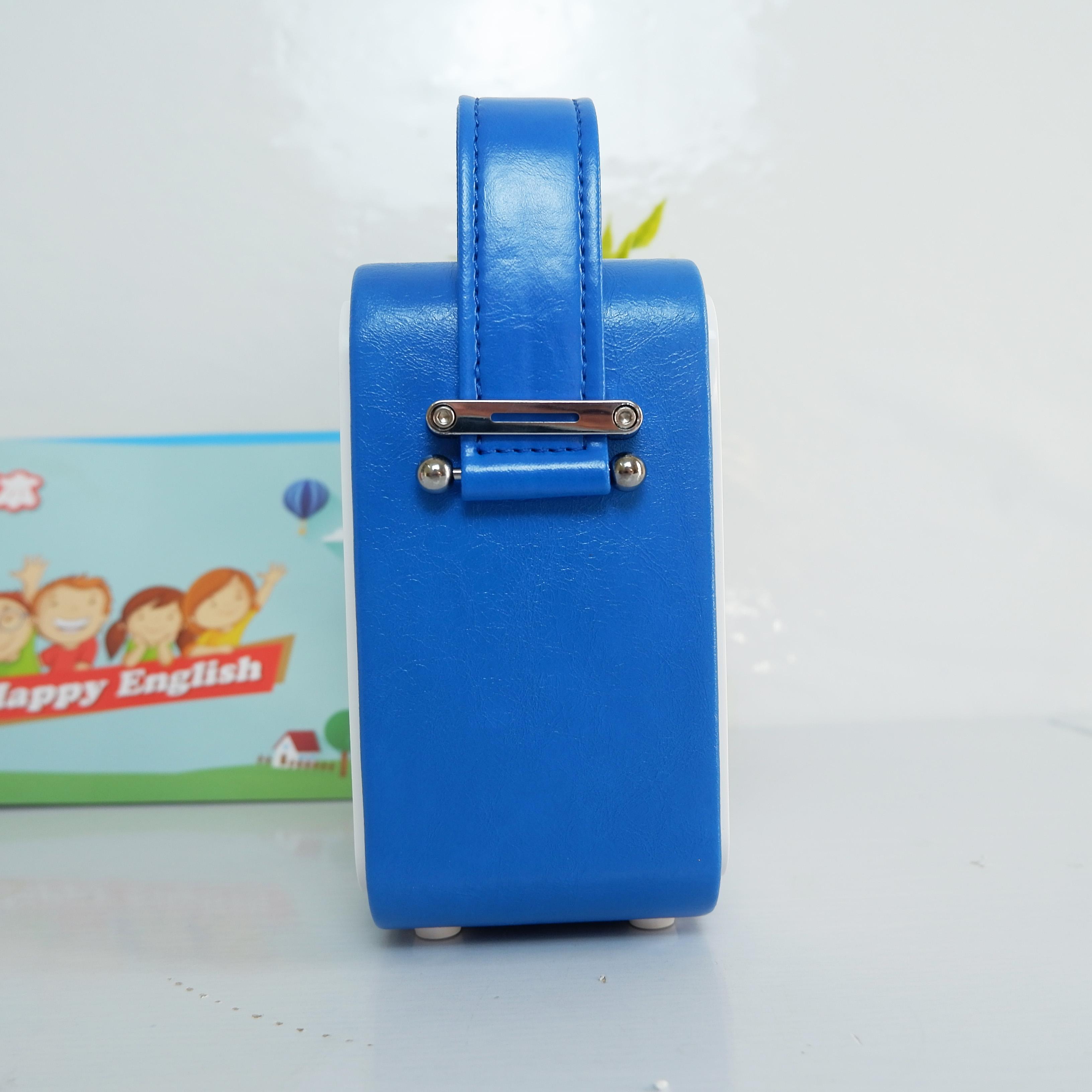 Loa Mini Xách Tay Bluetooth Nghe Nhạc, Học Tiếng Anh - Máy Nghe MP3 Hỗ Trợ Học Tiếng Anh - Đài Học Ngoại Ngữ  - Kèm Bộ 2 Sách Học Tiếng Anh Cho Bé