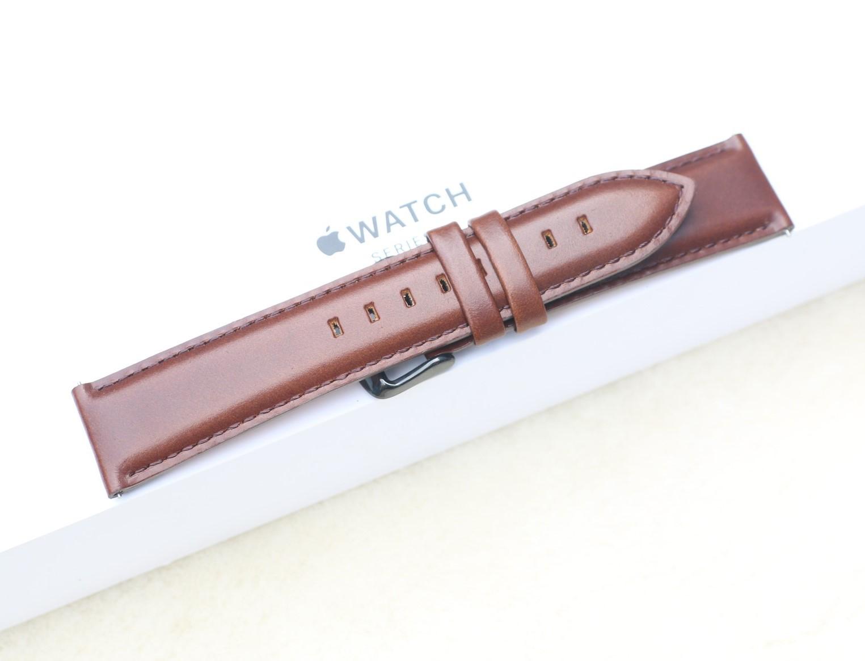Dây Da Đồng Hồ Da Bò Sáp Dầu, Dây đeo bằng da cổ điển, Chốt thông minh chiều rộng 18mm / 20mm / 22mm thay thế dành cho Đồng Hồ cổ Điển, Các Loại Swatch