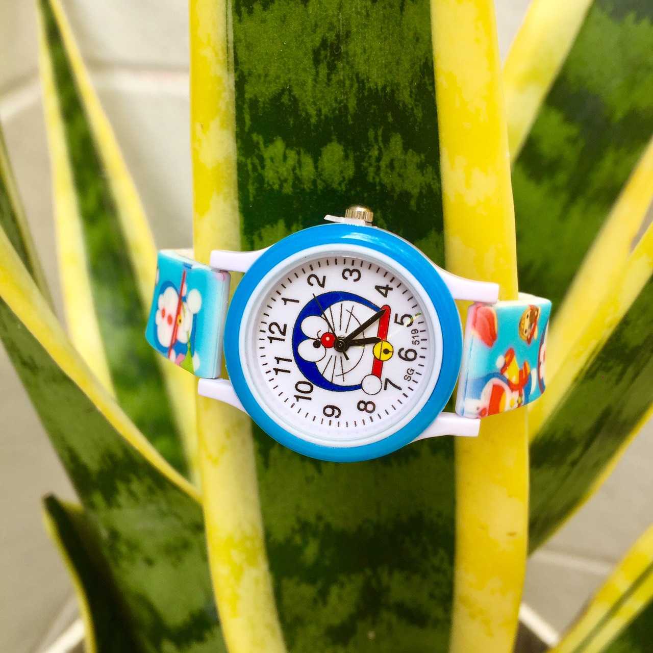 Đồng hồ hình doremon1 dây silicon cao cấp cho bé trai bé gái (Ảnh chụp thật)