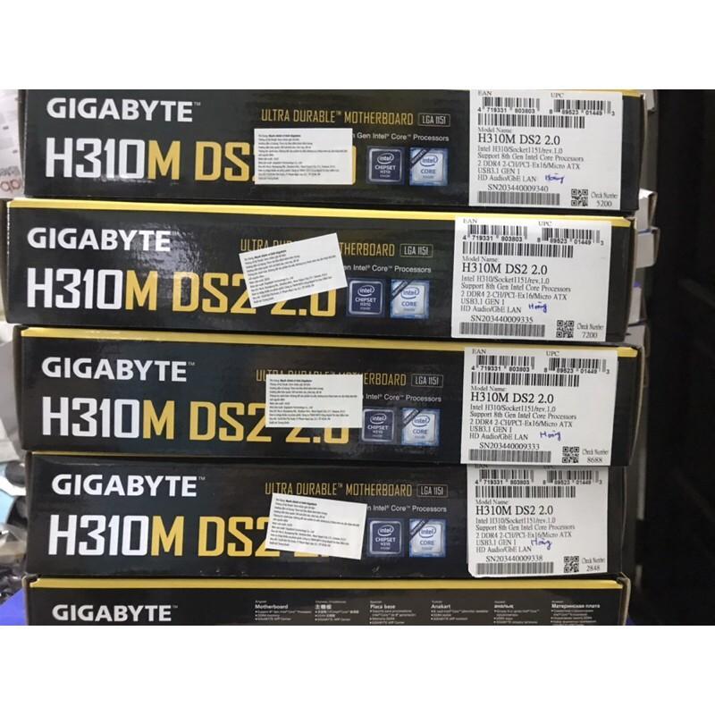 Bo Mạch Chủ Mainboard GigaByte H310M DS2 Socket LGA 1151-v2 - Hàng Chính Hãng