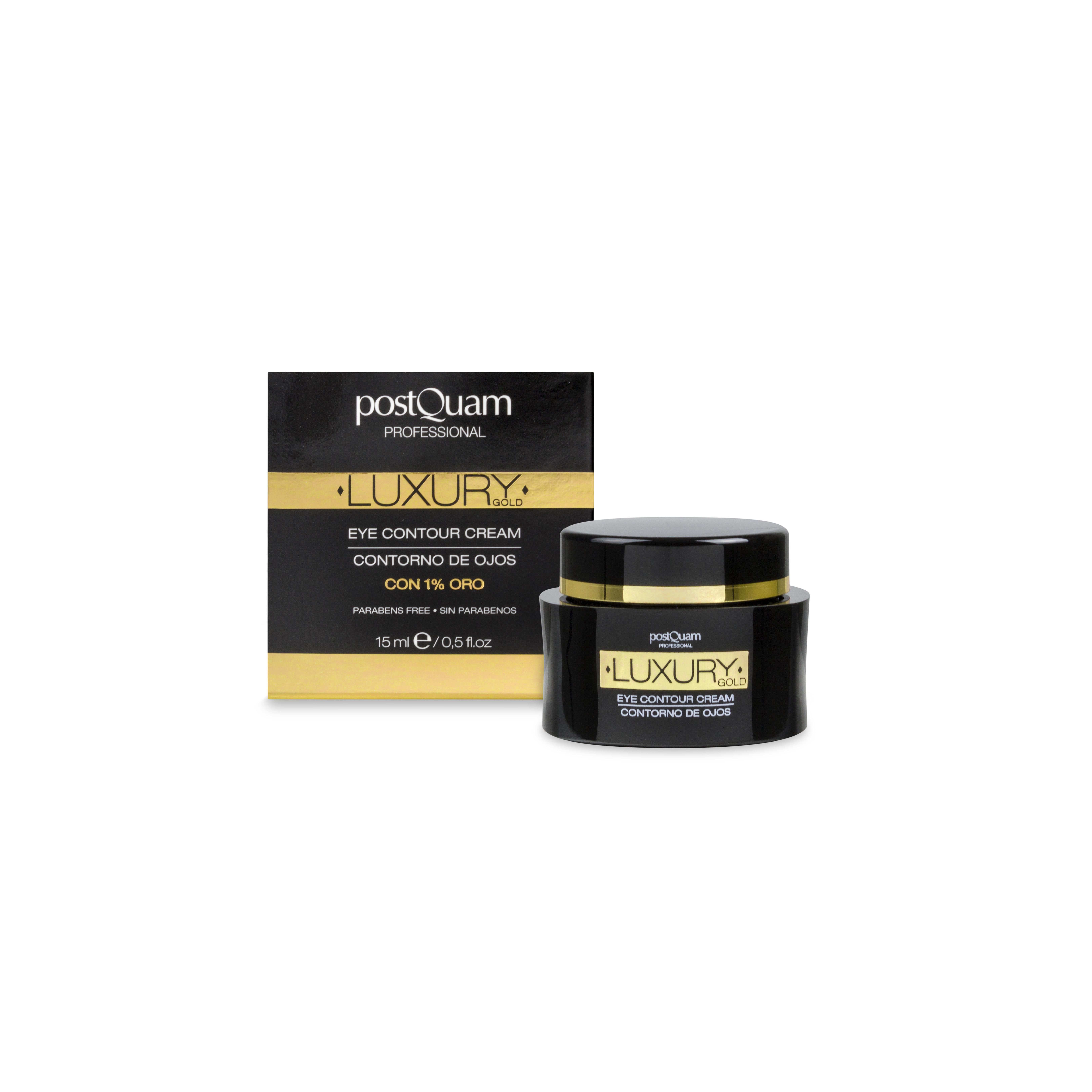 postQuam - Kem Luxury Gold giúp giảm nếp nhăn & chảy xệ vùng mắt - 15ml