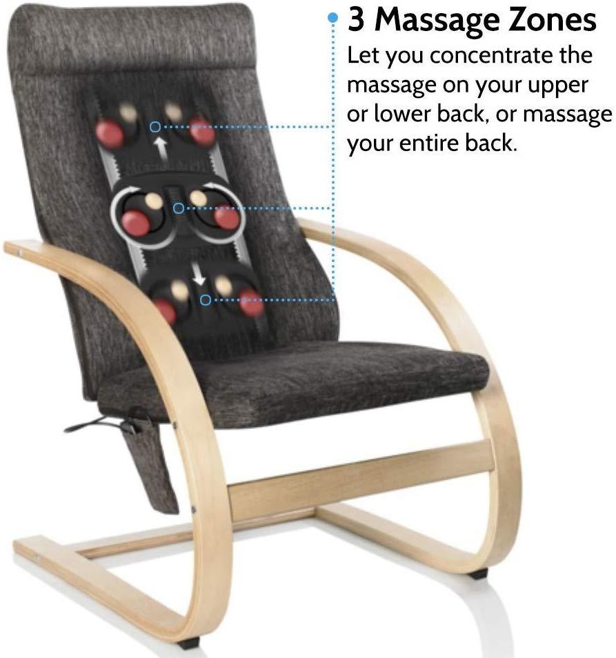 Ghế Massage thư giãn USA Shiatsu 3D cao cấp HoMedics MCS-1200H (3D Shiatsu Massaging Lounger) nhập khẩu USA