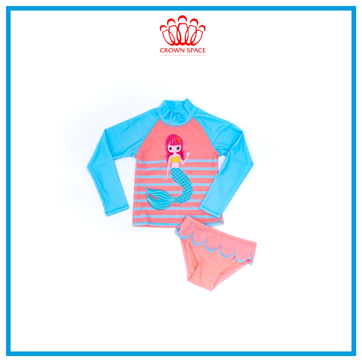 Đồ Bơi Trẻ Em Dành Cho Bé Gái Crown Space CKGS7110613