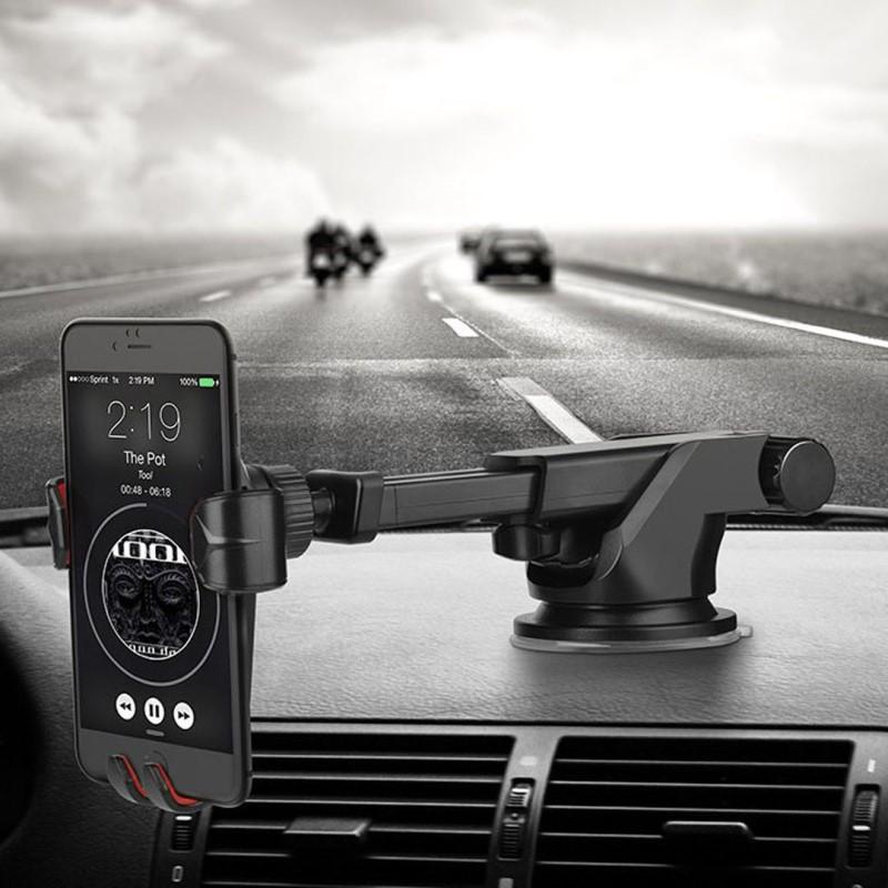Giá đỡ điện thoại trên xe hơi Hoco CA26 - Chính hãng