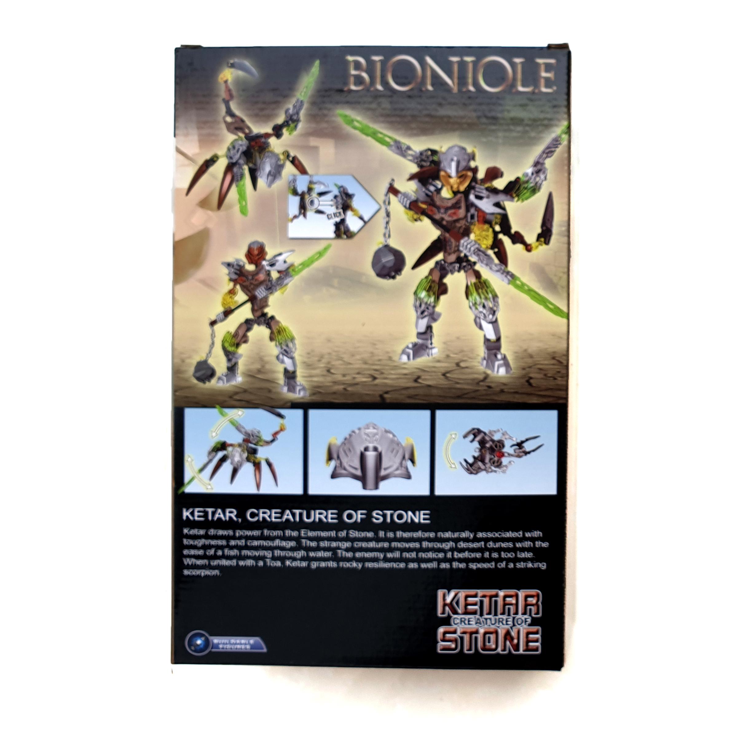 Mô hình Robot trang trí Bionicle 609-2 Ketar Stone