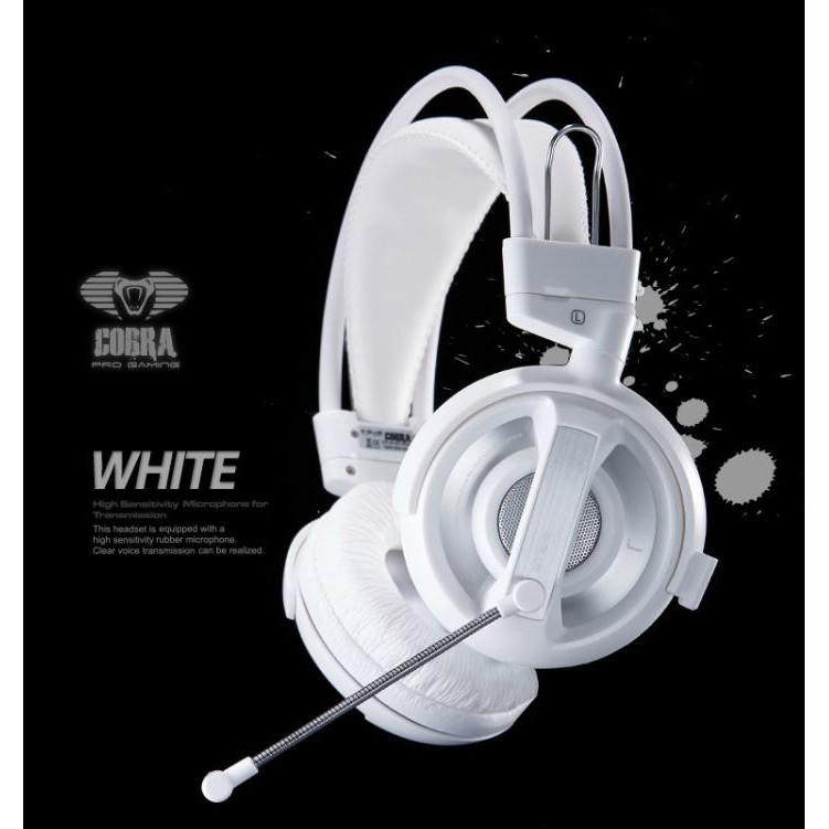 Tai nghe Chụp tai Gaming XENICS E - BLUE COBRA HEADSET - HÀNG CHÍNH HÃNG