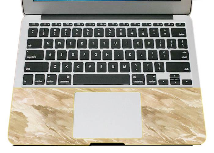 Mẫu Dán Skin Trang Trí Mặt Ngoài + Lót Tay Laptop Vân Đá LTVĐ - 73