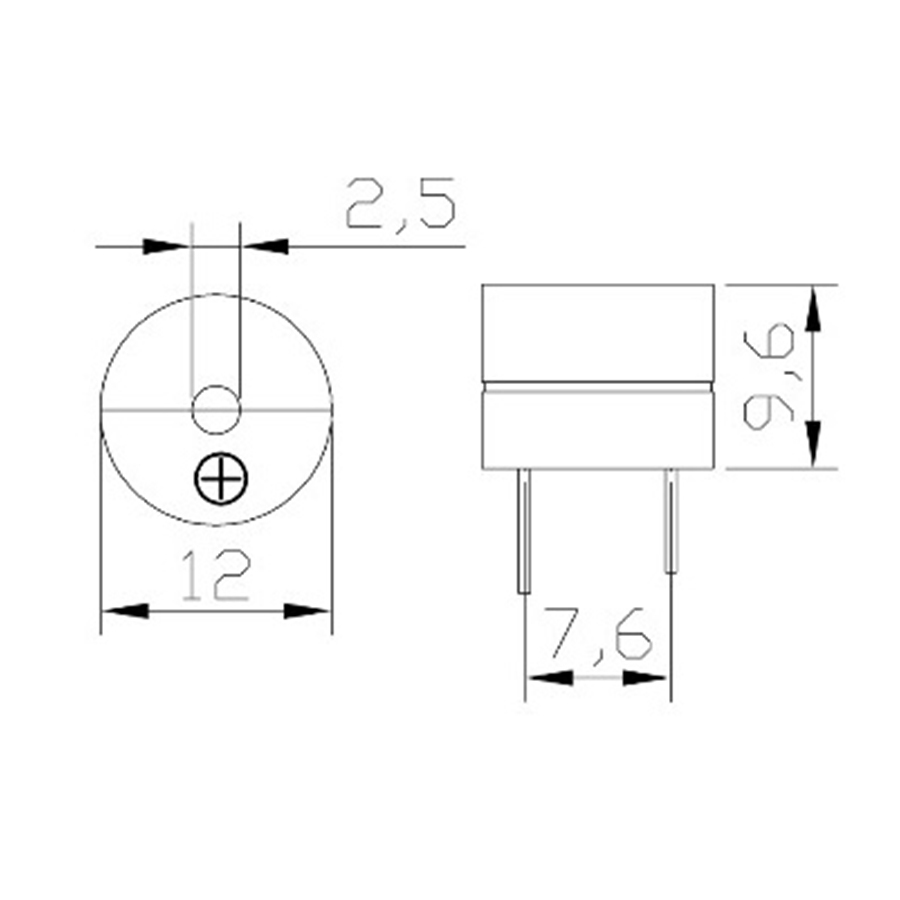 Module Còi Chíp 5V
