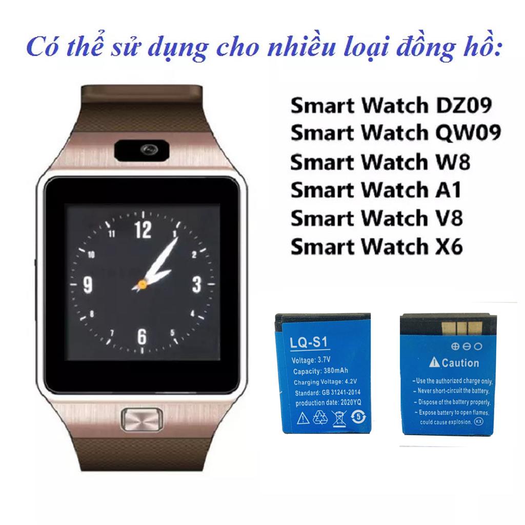 Pin đồng hồ thông minh loại xịn dành cho DZ09,X6,A1, A8L, A8Li, GM08, Apwatch, GM08, A9L, W88