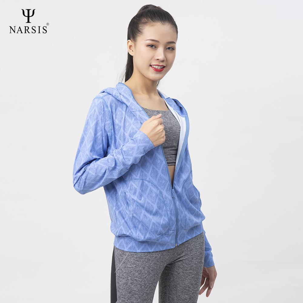 Áo chống nắng nữ Narsis L0005 màu xanh