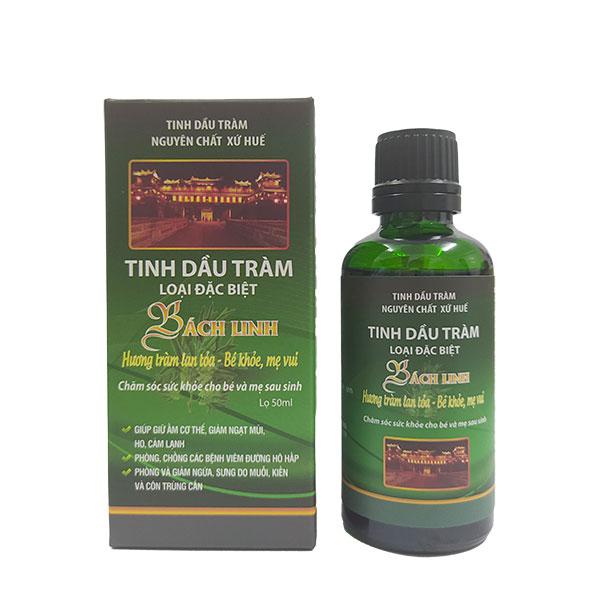 Tinh dầu tràm Bách Linh - Tinh dầu chăm sóc sức khỏe mẹ và bé