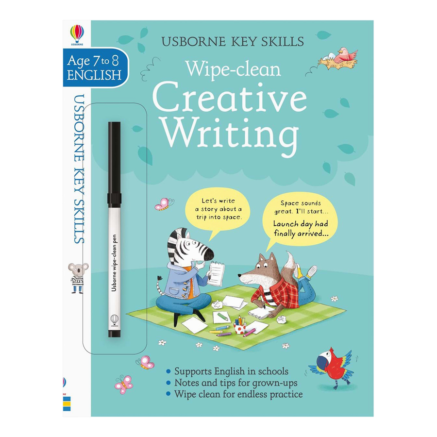 Usborne Key Skills Wipe-Clean: Creative Writing 7-8