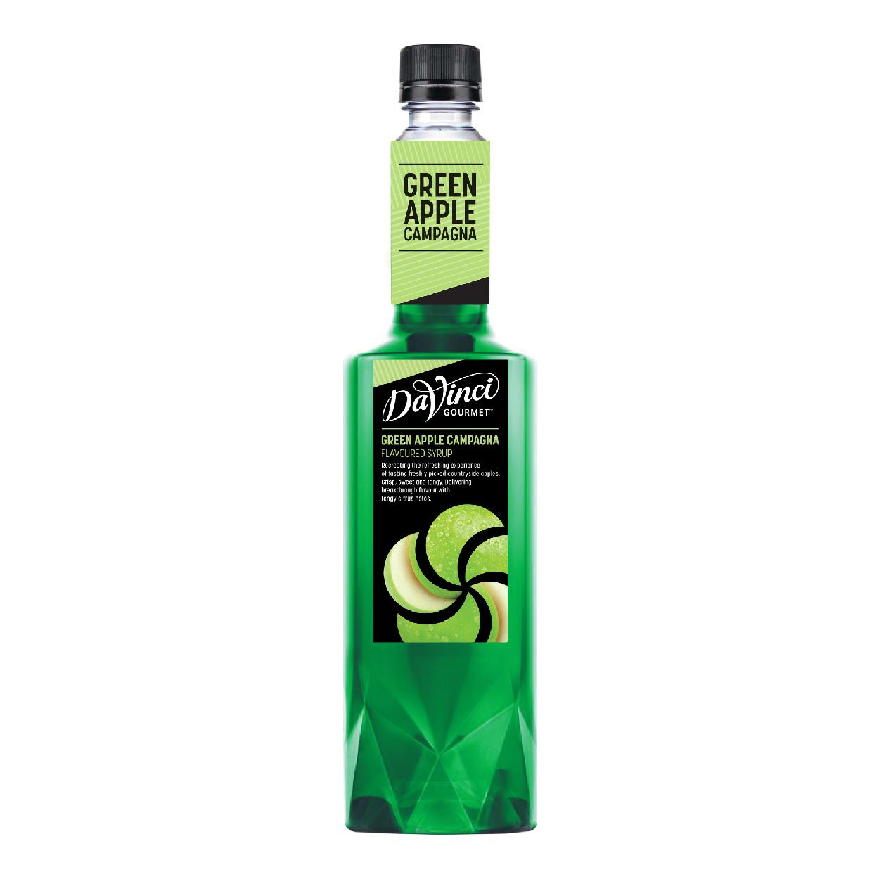 Siro Hương Táo Xanh / Green Apple Campagna Syrup - DaVinci Gourmet