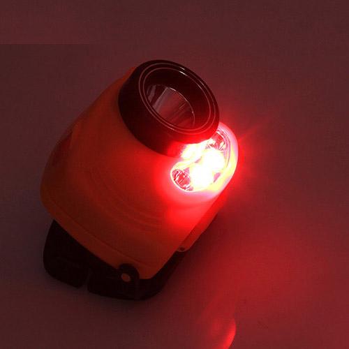 Đèn pin sạc đội đầu cảm ứng hồng ngoại Akasha 1803 (dây đeo màu sắc ngẫu nhiên)
