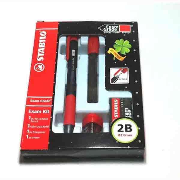 Bộ Bút Chì Bấm STABILO MP9883C-0,7-2.0mm (bút + gôm + ruột chì + chuốt)