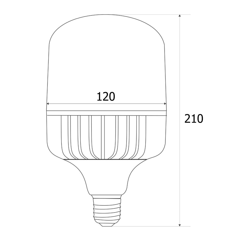 LED trụ hiệu suất cao Robot RBC-40WAP - Hàng chính hãng
