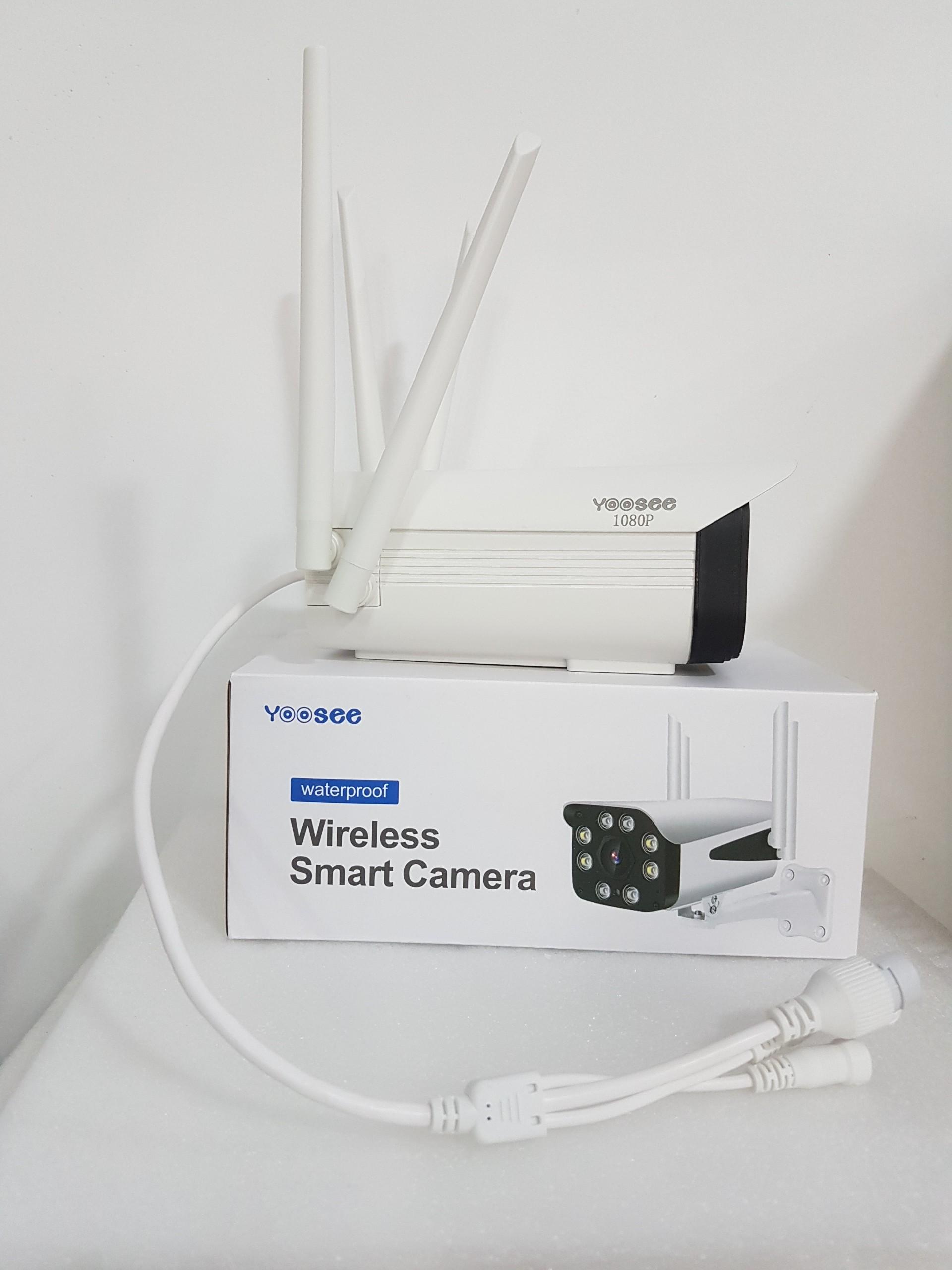 Camera IP Wifi Yoosee 4 Râu Camera Ngoài Trời Chống Nước Đàm Thoại 2 Chiều Xem Đêm Có Màu - hàng chính hãng