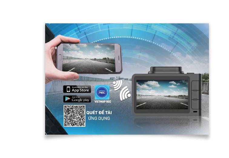 Camera hành trình ô tô Vietmap R4A hàng chính hãng VietMap