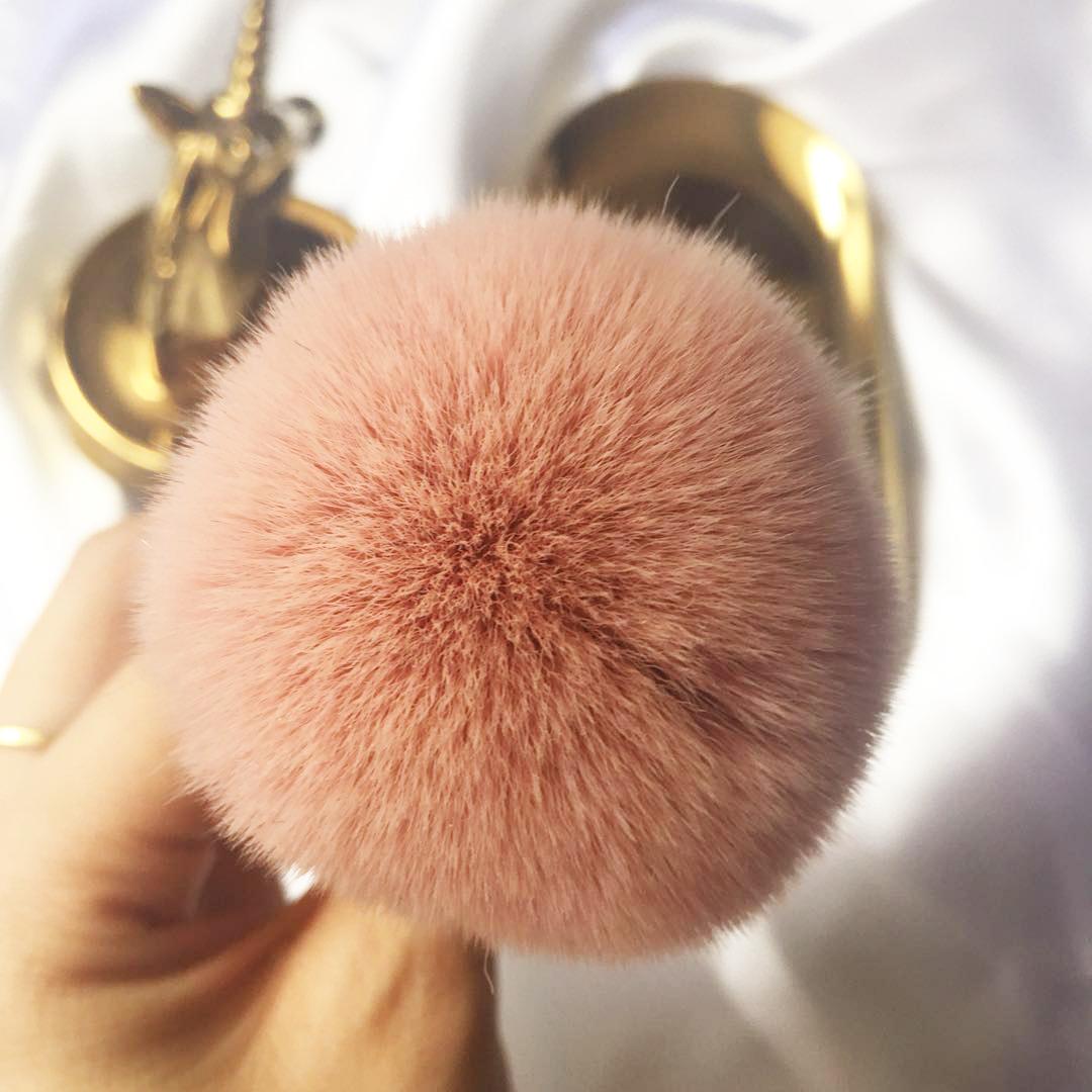 Cọ trang điểm tán phấn má hồng cao cấp, thân mảnh thời trang