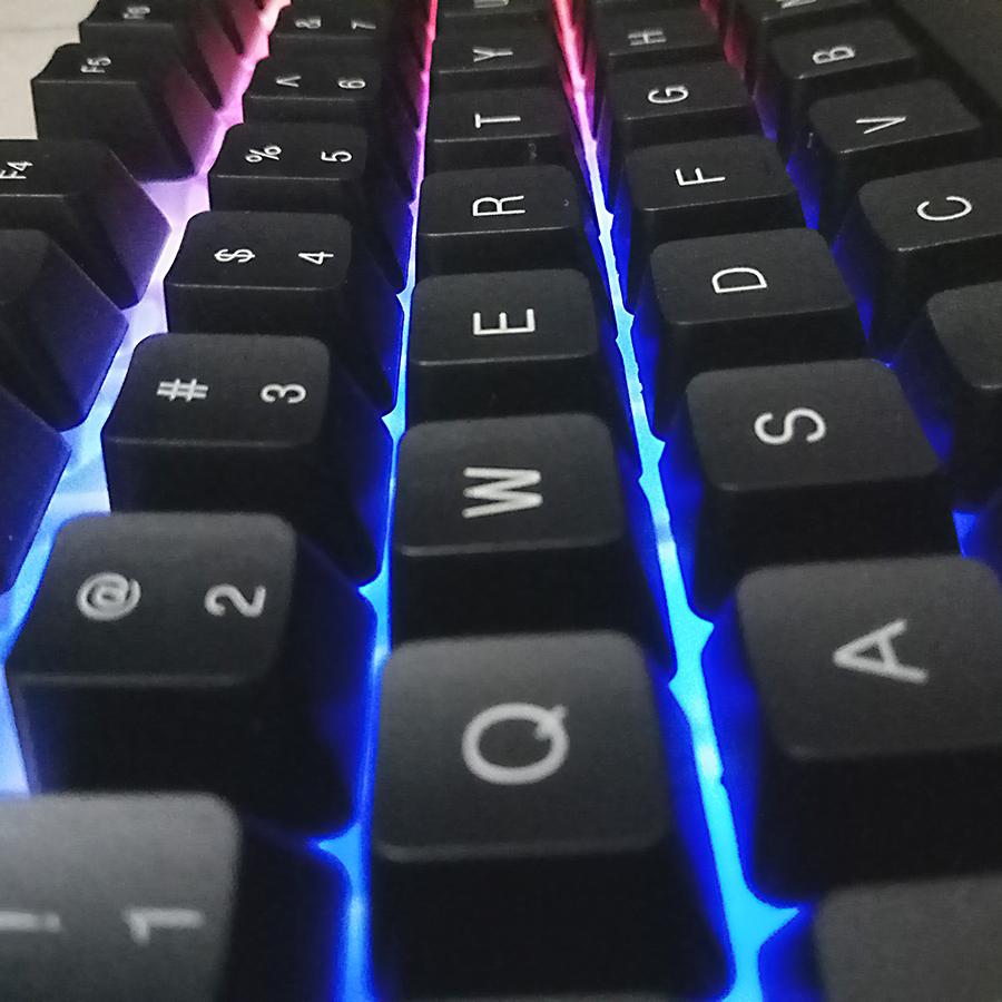 Bàn Phím LED Chuyên Game Giả Cơ Có Dây Bosston G808 - Hàng Chính Hãng
