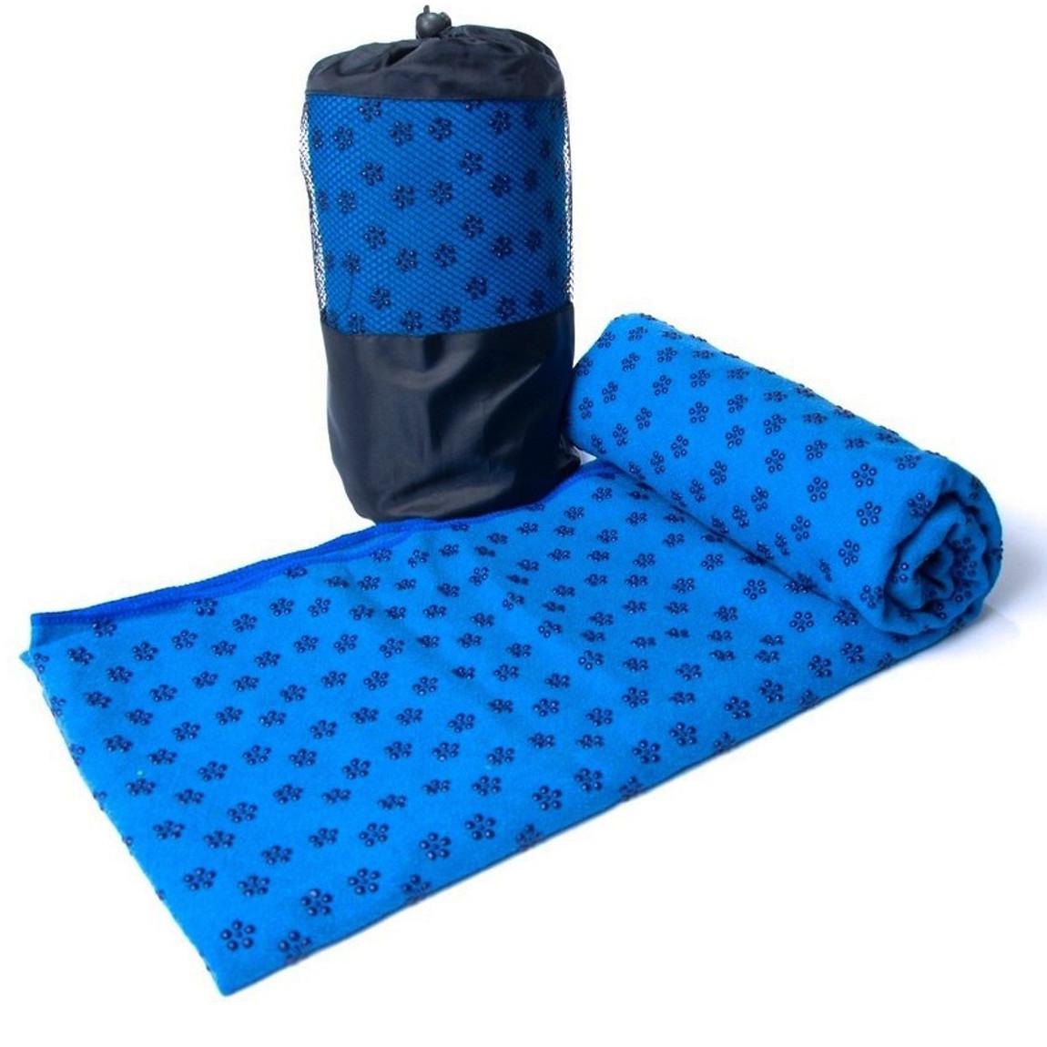 Khăn Trải Thảm Tập Yoga Phủ Hạt Silicon miDoctor + Túi Đựng Khăn Trải Thảm Tập Yoga